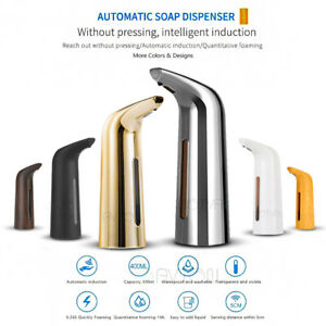 Automatic Smart Soap Liquid Dispenser Foam Sanitizer Dispenser Waterproof 400mL