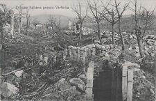* GORIZIA GORZ - Trincee Italiane presso Vertoiba (Slovenia) WWI