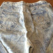 Vintage PS GITANO Womens Jeans Size 34/20W Regular Acid Wash Denim Mom USA