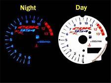 Honda CBR 954 RR 954RR 2002 2003 02 03 White Face Plasma Glow Gauge Dials MPH KM