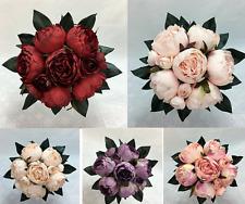 Artificial Flower Dusty Peony Flowers Wedding Bouquet/Flower Arrangement/Decor