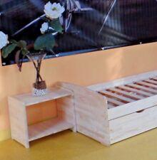 Nachttisch Schlafzimmer Jugendzimmer Kinderzimmer Voll-MASSIVHOLZ !!! 18mm