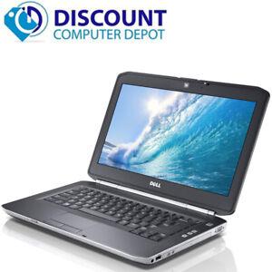 """Dell latitude Laptop Computer i5 Windows 10 PC 8gb 320gb 2.5GHz CPU 14"""" HD HDMI"""