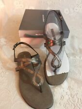 Cloud Walkers By Avenue Pewter Sandals Size 9W Jacey (4A)