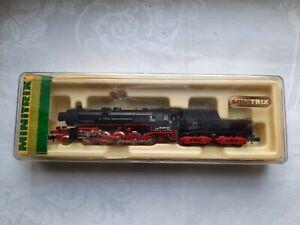 Minitrix 51 2151 00 Spur N Dampflokomotive in OVP aus Sammlung