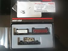 "Marklin spur z scale/gauge ""Ships Equipment"" Freight Car Set. New."