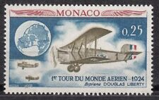 TIMBRE MONACO NEUF N° 645 **   AVIATION TOUR DU MONDE PAR 4 EQUIPAGES AMERICAIN