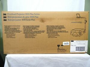 NEW 3M 1830 Overhead Transparency Projector X0-0038-0711-2 Original Packaging