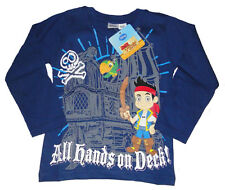 Jake und die Nimmerlandpiraten Langarmshirt Kinder langarm Shirt Jungen Pirat