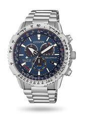 Orologi da uomo Citizen Radiocontrollato Crono Pilot Super Titanio CB5010-81L