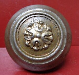 VINTAGE FANCY STEEL DOOR KNOB #6