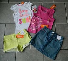 Size 6 years outfit Gymboree,Bright and Beachy,NWT,tops,shorts,skirt,5 pc.set