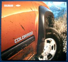 Prospekt brochure 2004 Chevrolet Colorado (Estados Unidos)