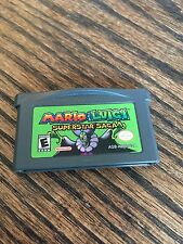 Mario & Luigi: Superstar Saga (Nintendo Game Boy Advance, 2003) GBA Cart