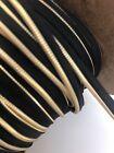 Mètre de Longueur de 10 mm à bride Piping Braid ~ ameublement ~ marron//or-COR450