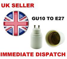 GU10 TO (ES) E27 Bulb Base Lamp Socket Fitting Extender Converter Adaptor Holder