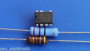 LNK304PN + Widerstand 22 Ohm 3W + HF Drossel 470µH Whirlpool, AEG, Bauknecht