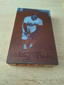 Whitey Ford JD McCarthy postcard printing plate 60's Yankees rare