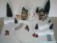 Christmas Village Display Platform J20 For Lemax Dept 56 Dickens + More