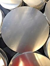 Aluminium Disc Plate Flange 200mm Diameter - 6mm Thick