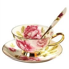 Gift Kitchen Tea Set Bone China Coffee Cup Advanced Ceramic Cups And Mugs O2L8