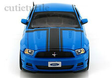 Shelby Collectibles 2013 Ford Mustang Boss 302 1:18 Diecast Blue SC 450