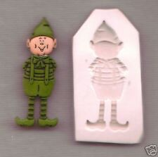 SANTA'S ELF, PIXIE Polymer Clay Mold CUTE! 0 S/H OFFER