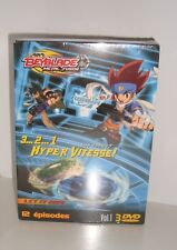 Beyblade metal fusion box vol.1 3dvd 12 episodes new in cello