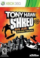 XBox 360 Tony Hawk SHRED Video GAME DISC ONLY skateboard microsoft COMPLETE