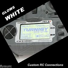 Turnigy 9X  Spektrum DX6i transmitter backlight Glows WHITE!
