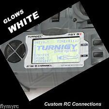 Turnigy 9X  Spektrum DX6i transmitter backlight Glows WHITE!