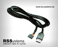 USB TO UART(TTL) SERIAL CABLE,  Cp2102, USB powered, 5V