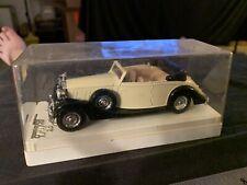 Vintage Solido Age D'or 4077 Rolls Royce Cabriolet 1:43 Diecast Car France MIB