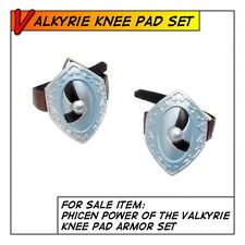 Phicen Power of the Valkyrie Knee Pads for 1/6 12 in scale Female Body