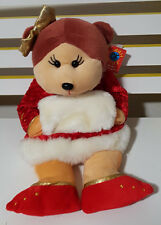 CUDDLY KIDS ANASTASIA THE BEAR BEANIE KID TOY LARGE 26CM TALL SEATED