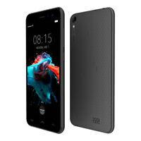 """HOMTOM Mobile Phone Débloqué Smartphone 5"""" 3G 4Core+ 2SIM Android 6 noir"""