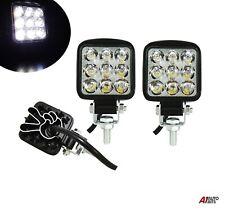 Set Of 2 Waterproof 27w 9 Led Spot Beam Mini Work Lights Lamps Offroad Tractor