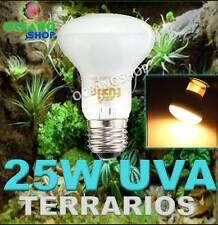 BOMBILLA 25W UVA UVB UV REPTILES ANFIBIO TERRARIO TORTUGA LAMPARA E27 INCUBADORA