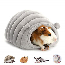 Amakunft Warm Hedgehog Bed, Rat House with Bed Mat Cotton Sleeping Nest Cage for