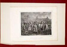 Lithographie originale, Il est défendu de fumer, Raffet, frères Gihaut, XIXe.