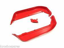 KYOSHO INFERNO MP9 TKI4, TKI3, NEW RED, GENUINE CHASSIS SIDE GUARDS, IFF002KR