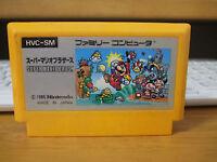 SUPER MARIO BROS. Nintendo Family computer  FC Famicom  used Japan