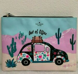 NWT Kate Spade New Horizons Out of Office Gia Pouch Clutch in Original Packaging