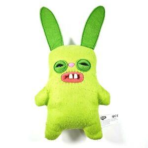 FUGGLER Vibrant Green Rabbit 35cm Plush Toy