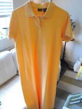NWT LL BEAN Sturdy Cotton Yellow Polo Shirt Dress M-Petite