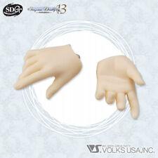 NEW VOLKS Super Dollfie Limited Parts / SD13B Hand H-01 (Pure Skin Fair)
