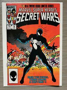 Marvel Super Heroes Secret Wars 8 First Black Suit Spider-Man Key
