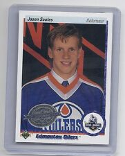 10-11 2010-11 UPPER DECK JASON SOULES 20TH ANNIVERSARY FRENCH BUYBACK 75 OILERS