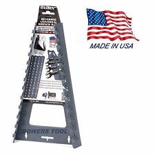 Hansen Universal Reversed Wrench Organizer Tray Rack Holder Metric SAE USA MADE