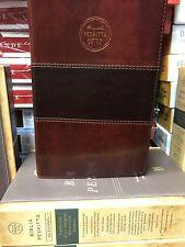 Bíblia Peshitta Semi Piel Caoba Traducción De Los Antiguos Manuscritos Arameos